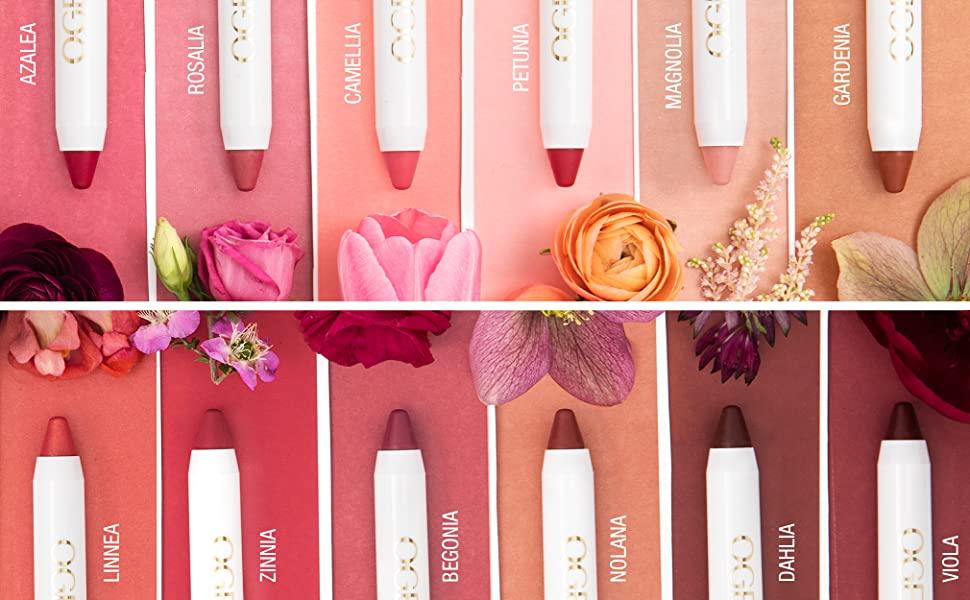 organic tinted lips lip oil conditioner balm chapstick plumper
