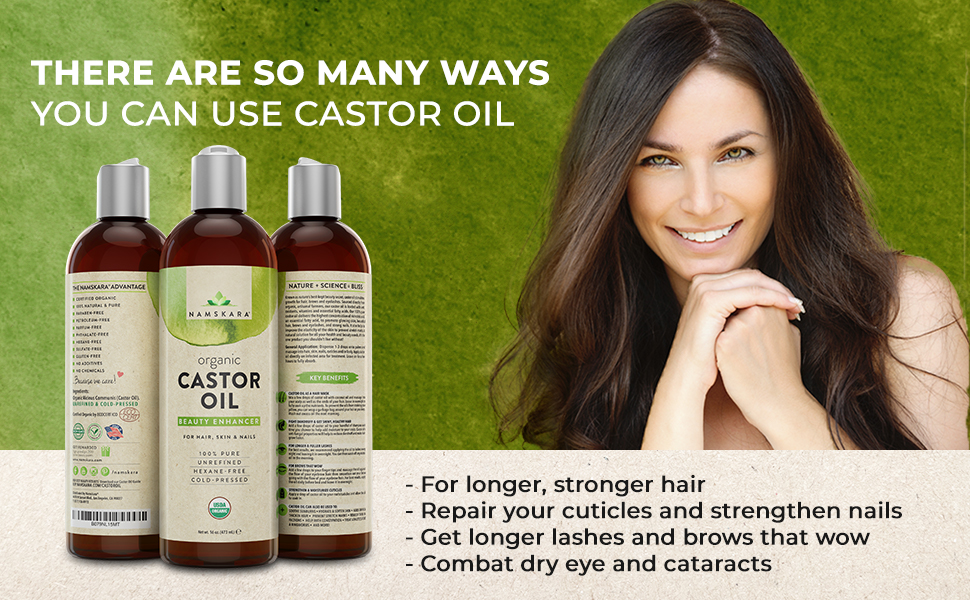 There Are So Many Ways You Can Use Castor Oil For Hair, Skin, and Nails