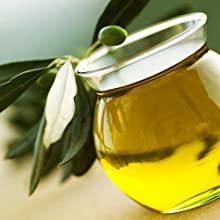 olive oil fruit antioxidants essential oils dry moisture fine brittle hair dyed scalp flakes shiny