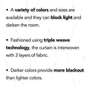 light blocking curtains room darkening curtains sun blocking curtains