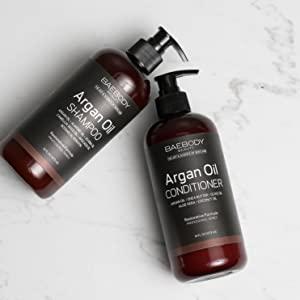 baebody argan oil shampoo and conditioner