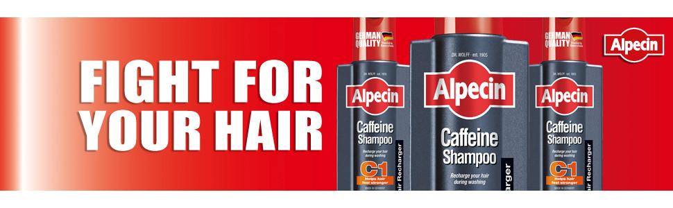 Alpecin, Caffeine Shampoo