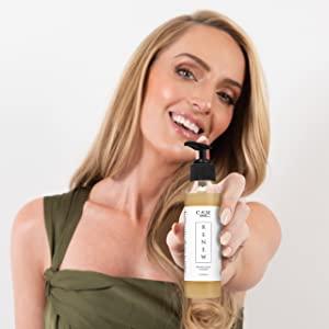Lacey Holding Renew Bottle