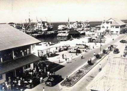 Stesen Bas SANDAKAN sebelum tahun 1950-an
