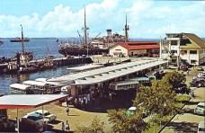 Stesen Bas SANDAKAN 1960-an di dalam sekeping poskad