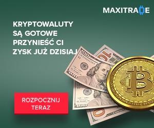 Baner MaxiTrade - platforma inwestycyjna