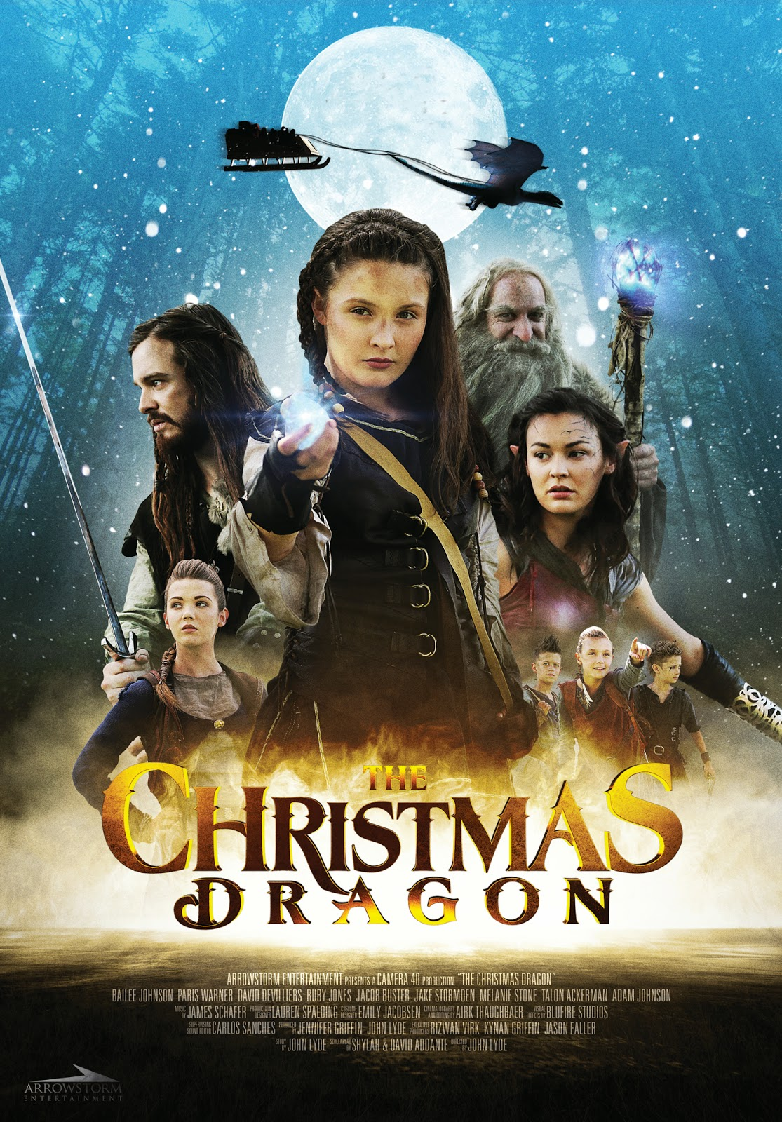 The Christmas Dragon ~ Movie Review