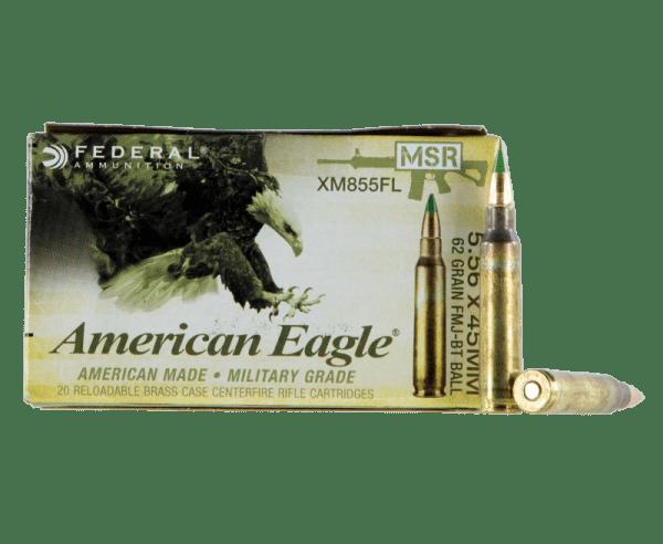 Federal American Eagle XM 5.56 NATO