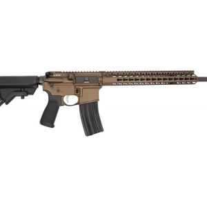 Bravo Company Recce-16 Carbine Dark Bronze 5.56 NATO 16-Inch 30Rd