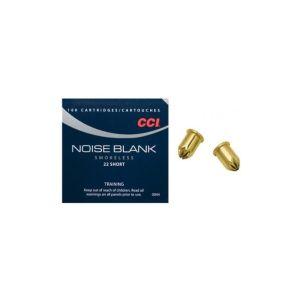 CCI Ammunition Noise Blank Smokeless .22 Short Blanks 100 Count