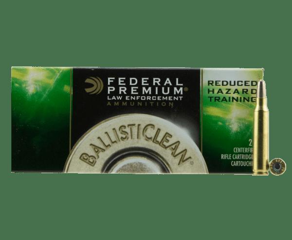 Federal BallistiClean Brass .223 Rem 55-Grain 20-Rounds Frangible