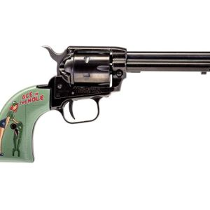 """Heritage Firearms Rough Rider Ace in the Hole Black .22 LR 4.75"""" Barrel 6-Rounds"""