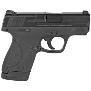 """Smith and Wesson M&P9 Shield With Manual Thumb Safety 9mm 3.125"""" Barrel 7-Rounds"""