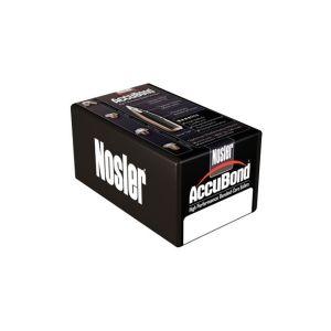 Nosler Ammunition 54851 ACCUBOND 338 300 ACB 50