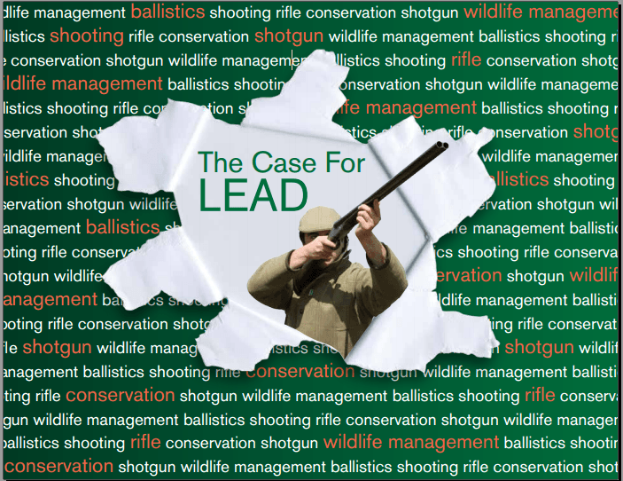 Countryside Alliance publication on lead shot