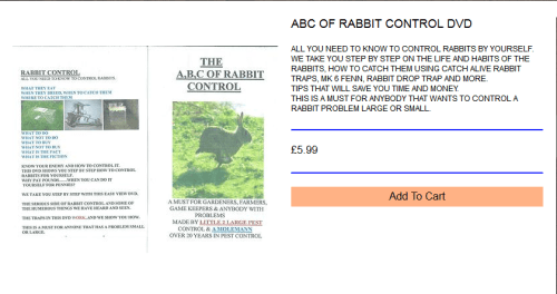 The ABC of Rabbit Control DVD