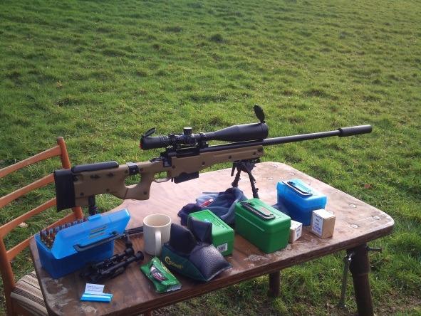 Rifle, Check, Rounds, Check, Mug of Char, Check