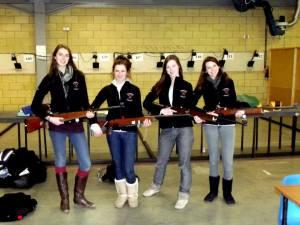 Cambridge University Ladies Target Rifle Team, Courtesy Lizzie Potter