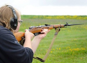 Photo Credit: John Clark @ http://www.classic-firearms.co.uk/, picture of author using a M44 Carbine.