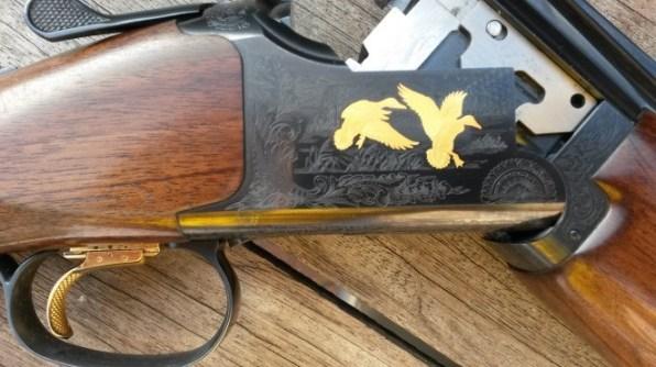 Browning 525 detailing