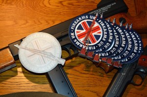 Group of Firearms UK official patches