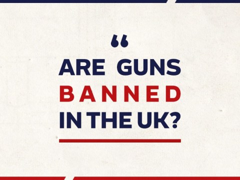 Are guns banned in the UK? Facebook 360° Infographic