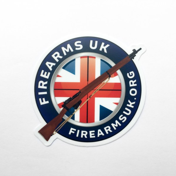 Firearms-UK Stickers - Logo