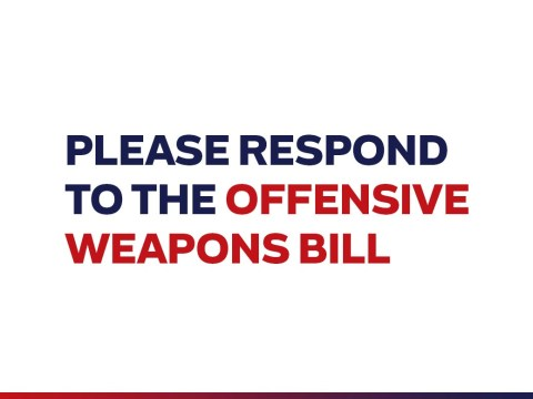 Spread the word on the Offensive Weapons Bill