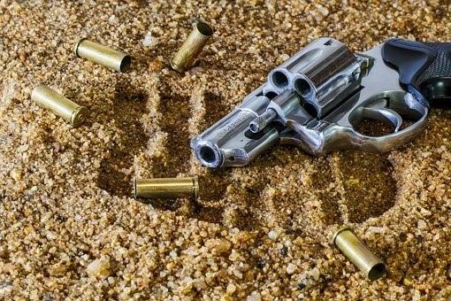 Firearm, Revolver, Bullet, Gun, Weapon