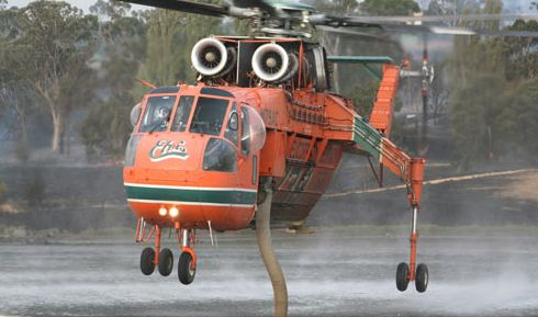 """Elvis"", an Erickson Air-Crane"
