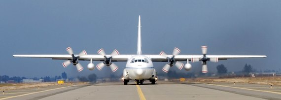 Coulson's C-130 Taxiing
