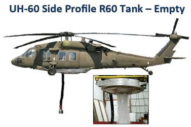 RECOIL Blackhawk fire suplpression tank