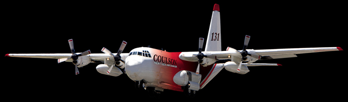 Update on Coulson's C-130 air tanker