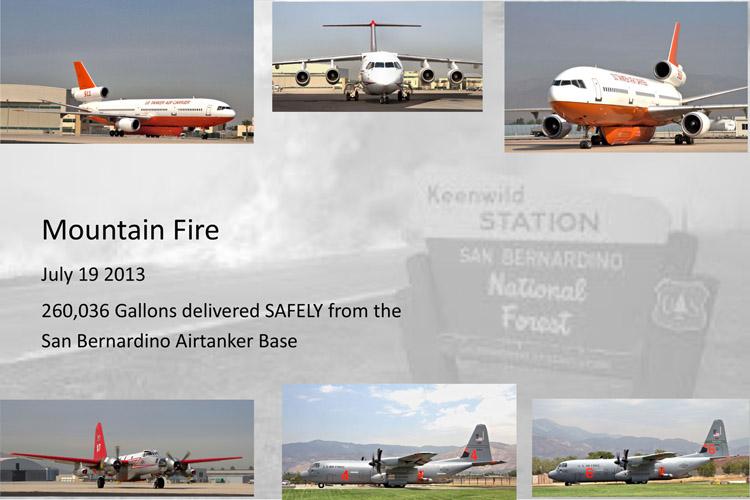 San Bernardino air tanker base