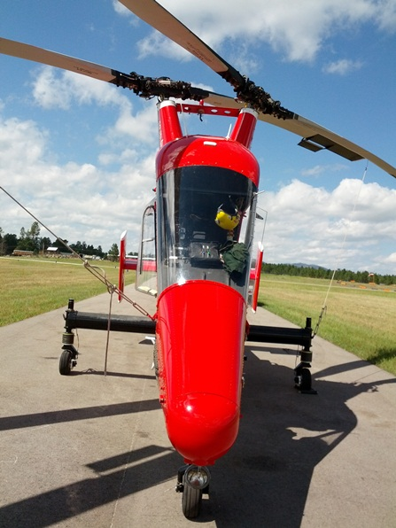 K MAX helicopter converted to unmanned aircraft system   Fire Aviation