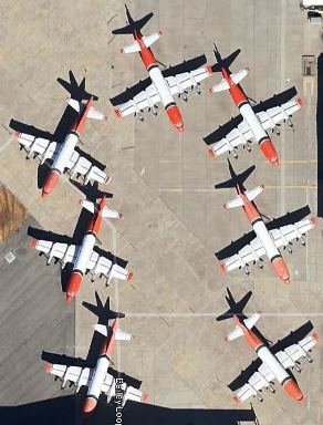 P-3s at McClellan AFB