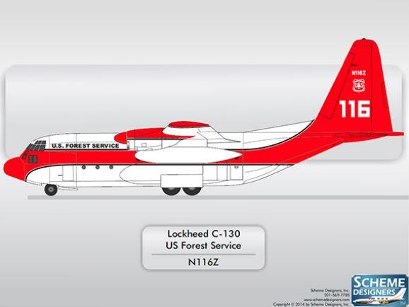 C-130H paint design