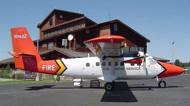 Smokejumper aircraft, N143Z