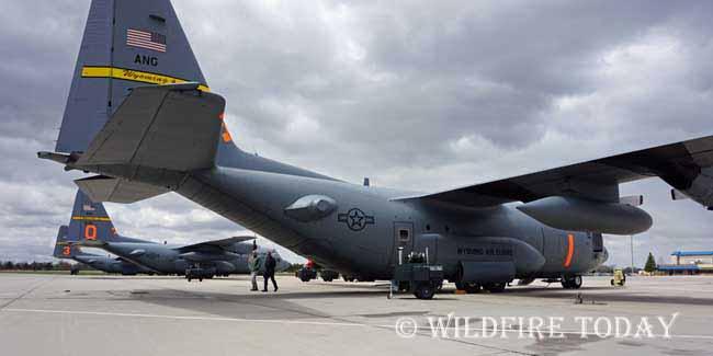 MAFFS aircraft at Cheyenne