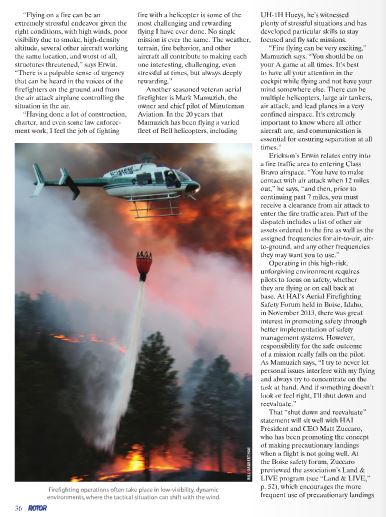 Rotor Magazine, Gabbert's photo