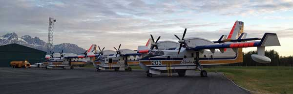 firefighting aircraft at Palmer AK