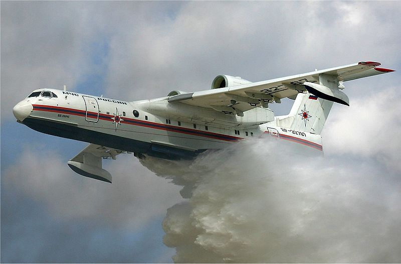 New agreement to produce US-built Be-200 amphibious air tanker