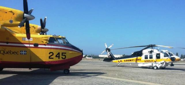 T-245 and LA Co Blackhawk