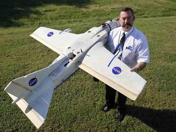 Mike Logan NASA UAV