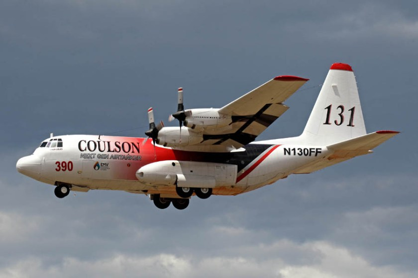 Coulson's C-130Q