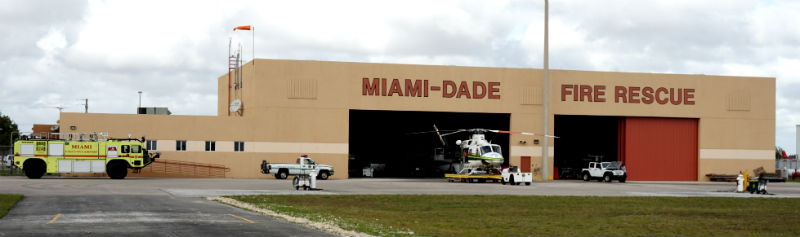Miami-Dade Fire Rescue helicopter