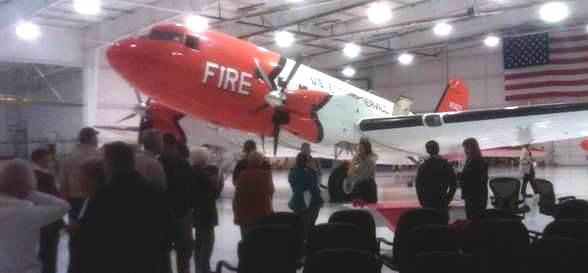 DC-3 smokejumper