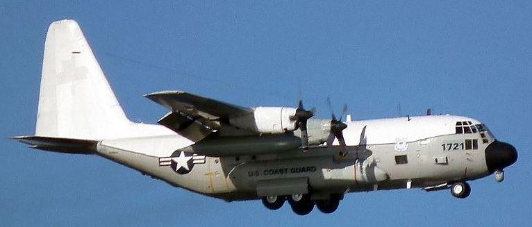 Coast Guard HC-130H 1721
