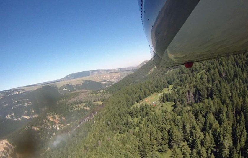 bighorn fire smokejumpers