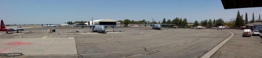 air tankers at Fresno 9-1-2015